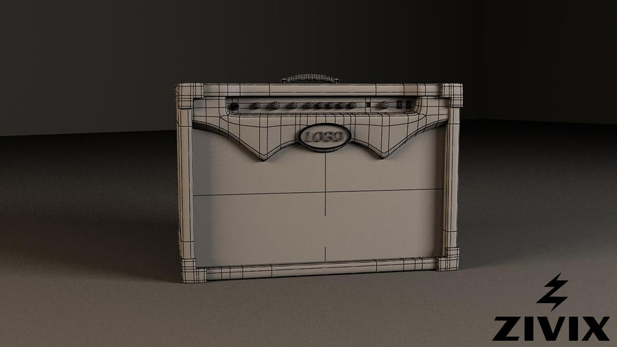 Speakers & Amplifiers royalty-free 3d model - Preview no. 3