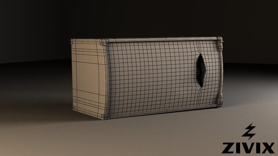 Speakers & Amplifiers royalty-free 3d model - Preview no. 8