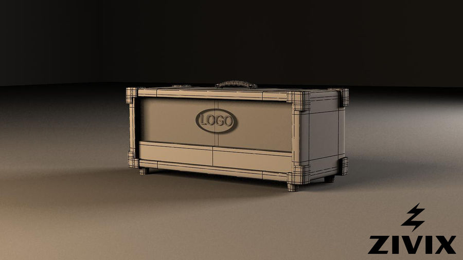 Speakers & Amplifiers royalty-free 3d model - Preview no. 5