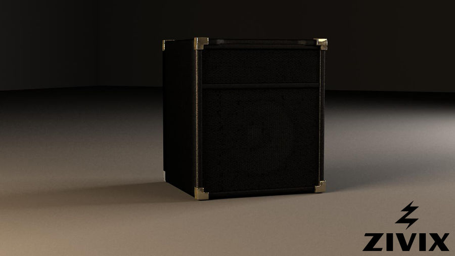 Speakers & Amplifiers royalty-free 3d model - Preview no. 6