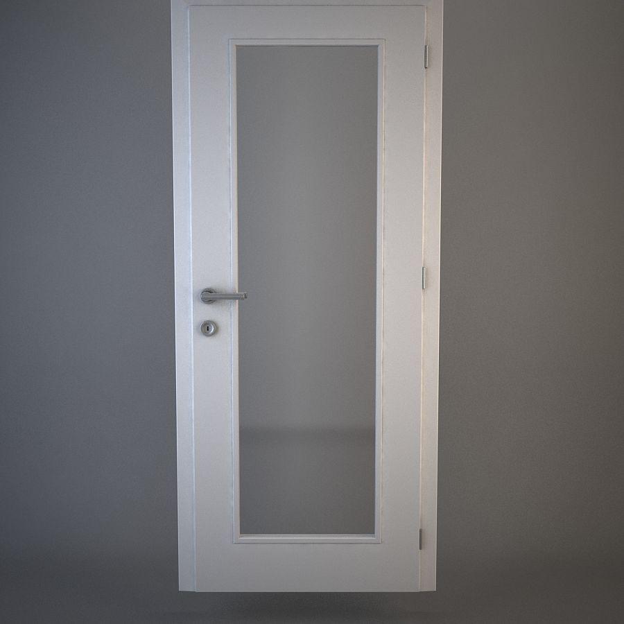 Дверь 04 royalty-free 3d model - Preview no. 1