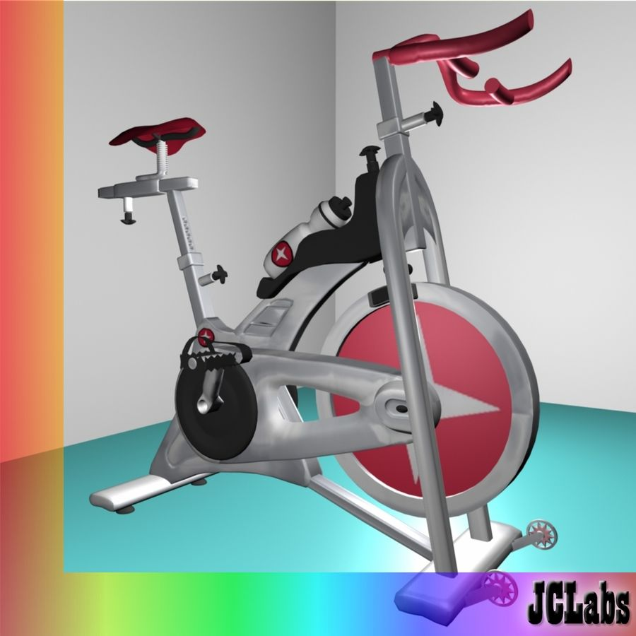 Gym Bicycle royalty-free 3d model - Preview no. 1