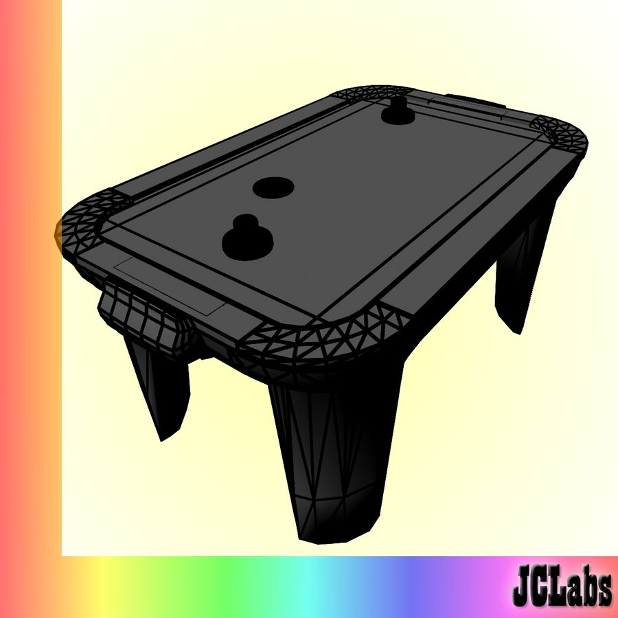 Air Hockey royalty-free 3d model - Preview no. 5