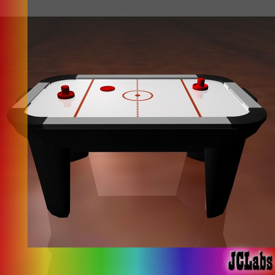 Air Hockey royalty-free 3d model - Preview no. 3