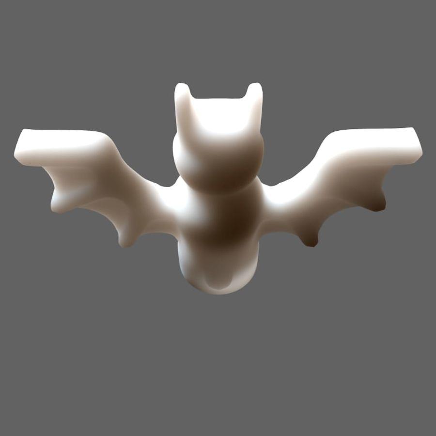 Lego Animal Bat royalty-free 3d model - Preview no. 4