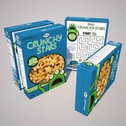 Cereal Boxes 3d model