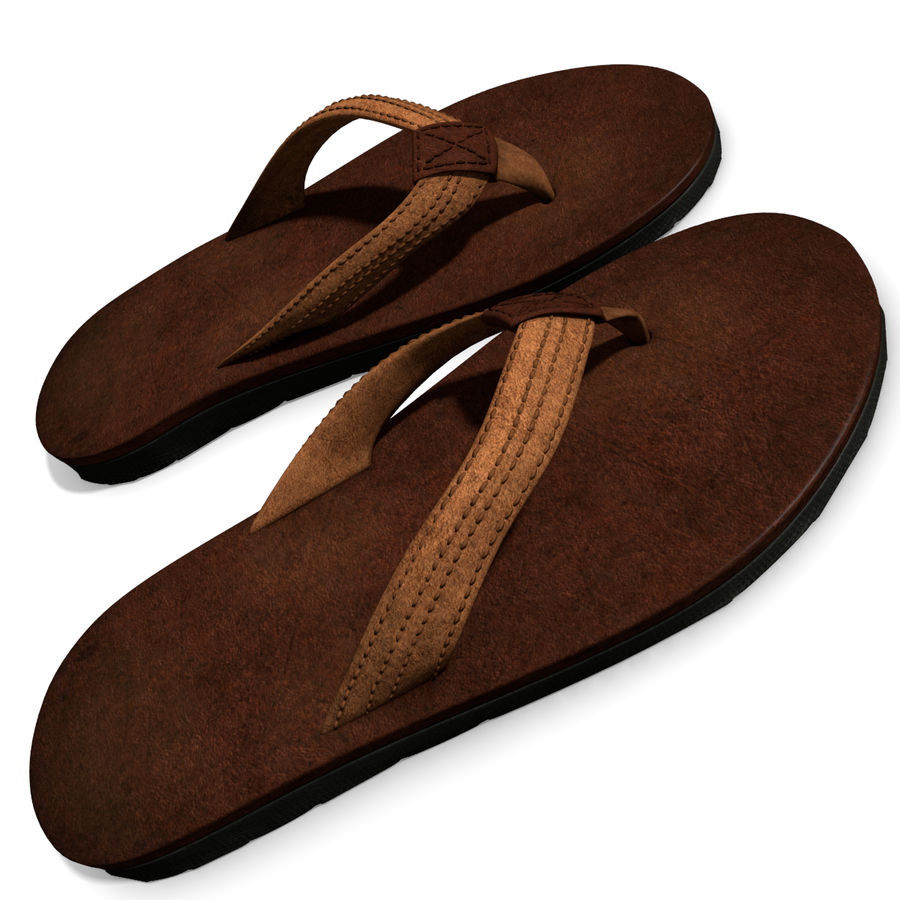 Sandals royalty-free 3d model - Preview no. 6