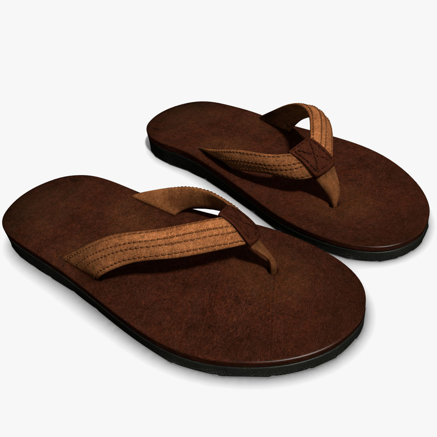Sandals royalty-free 3d model - Preview no. 1