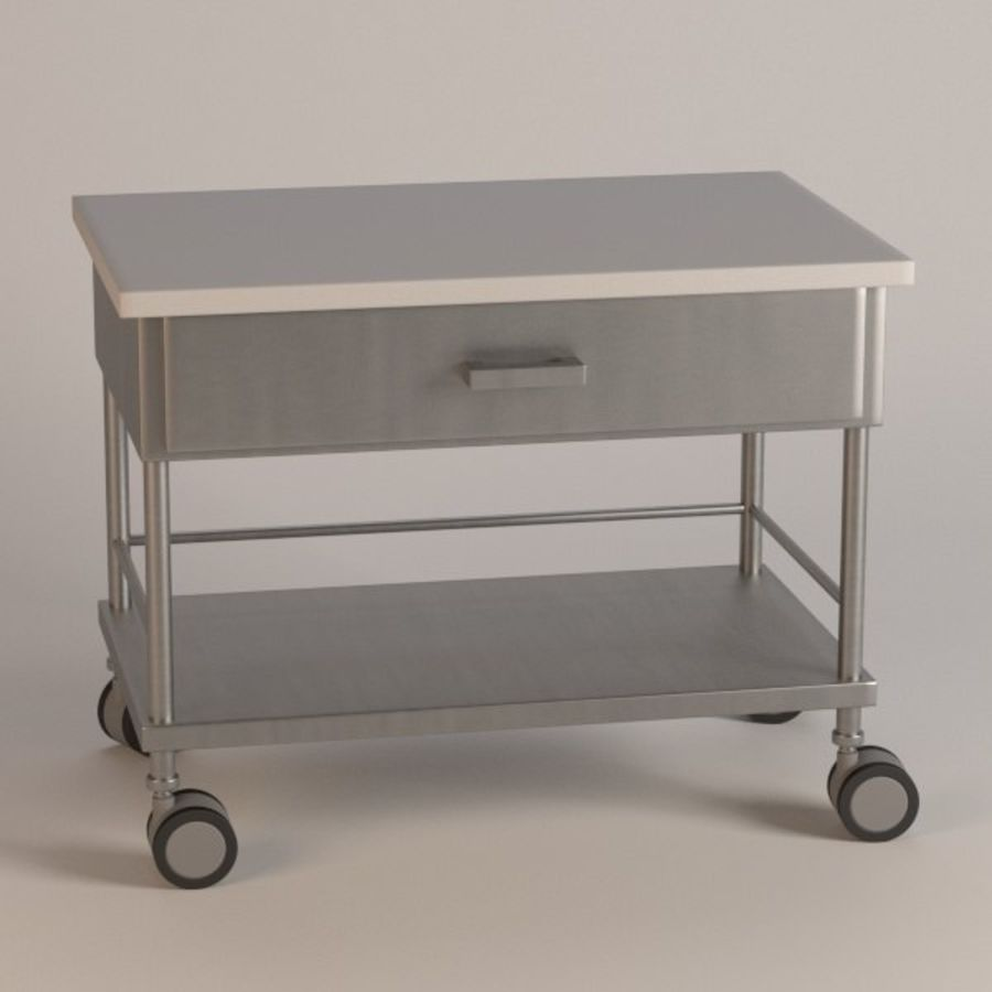 medical table11 royalty-free 3d model - Preview no. 1