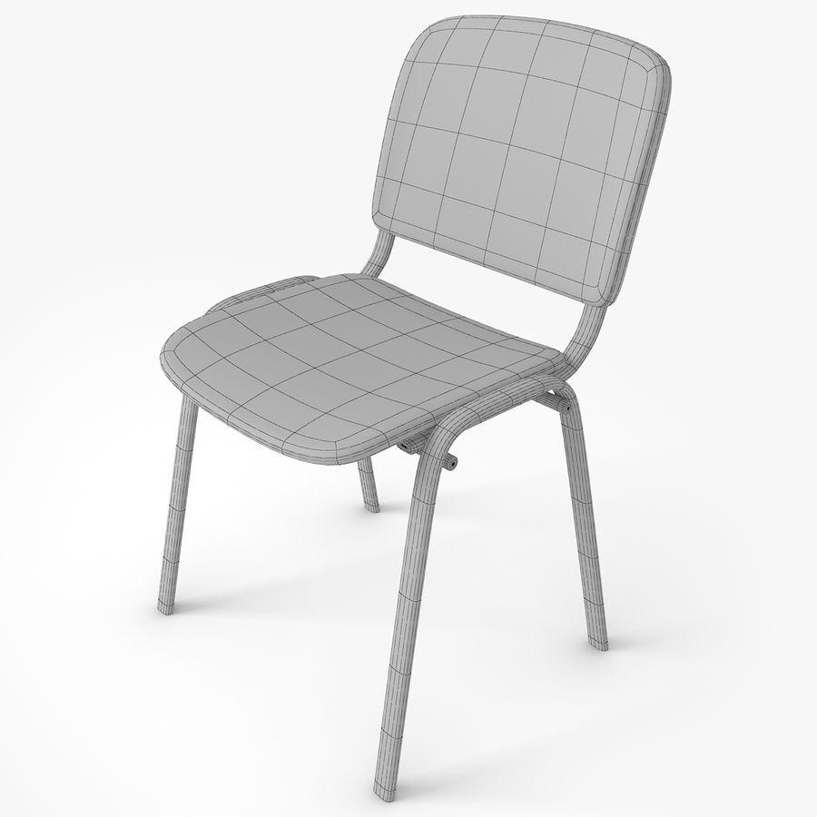办公椅ISO royalty-free 3d model - Preview no. 7