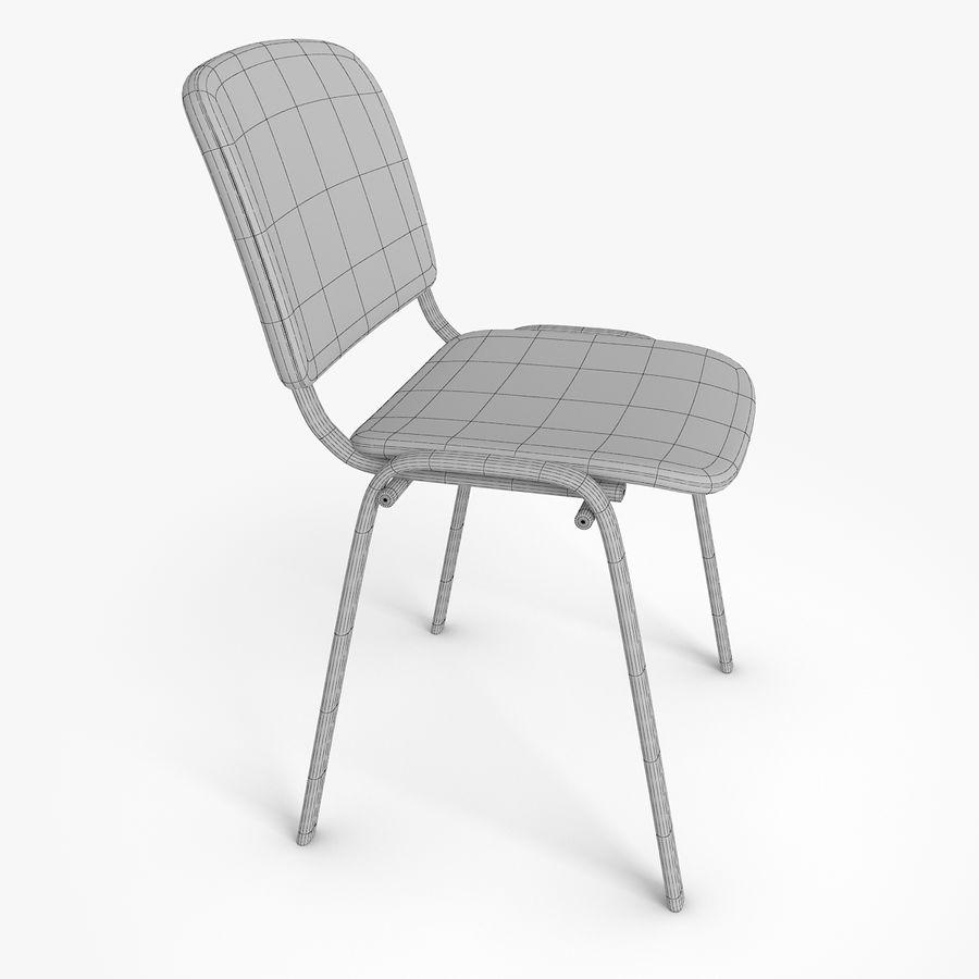办公椅ISO royalty-free 3d model - Preview no. 10