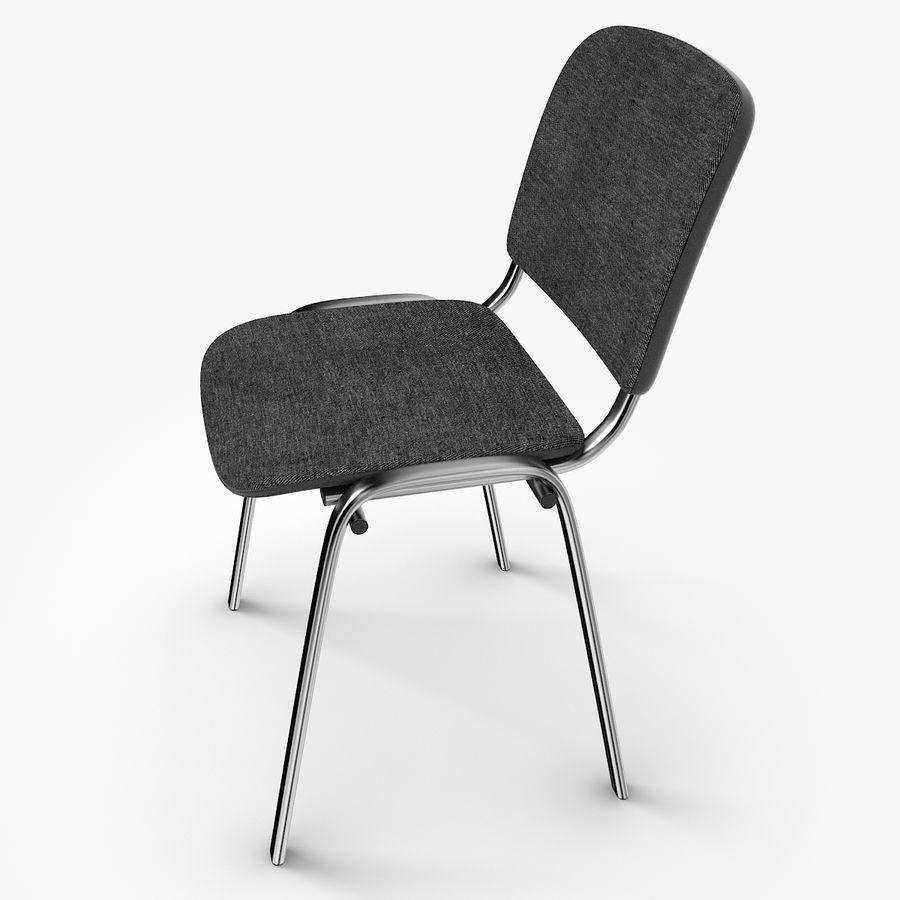 办公椅ISO royalty-free 3d model - Preview no. 3