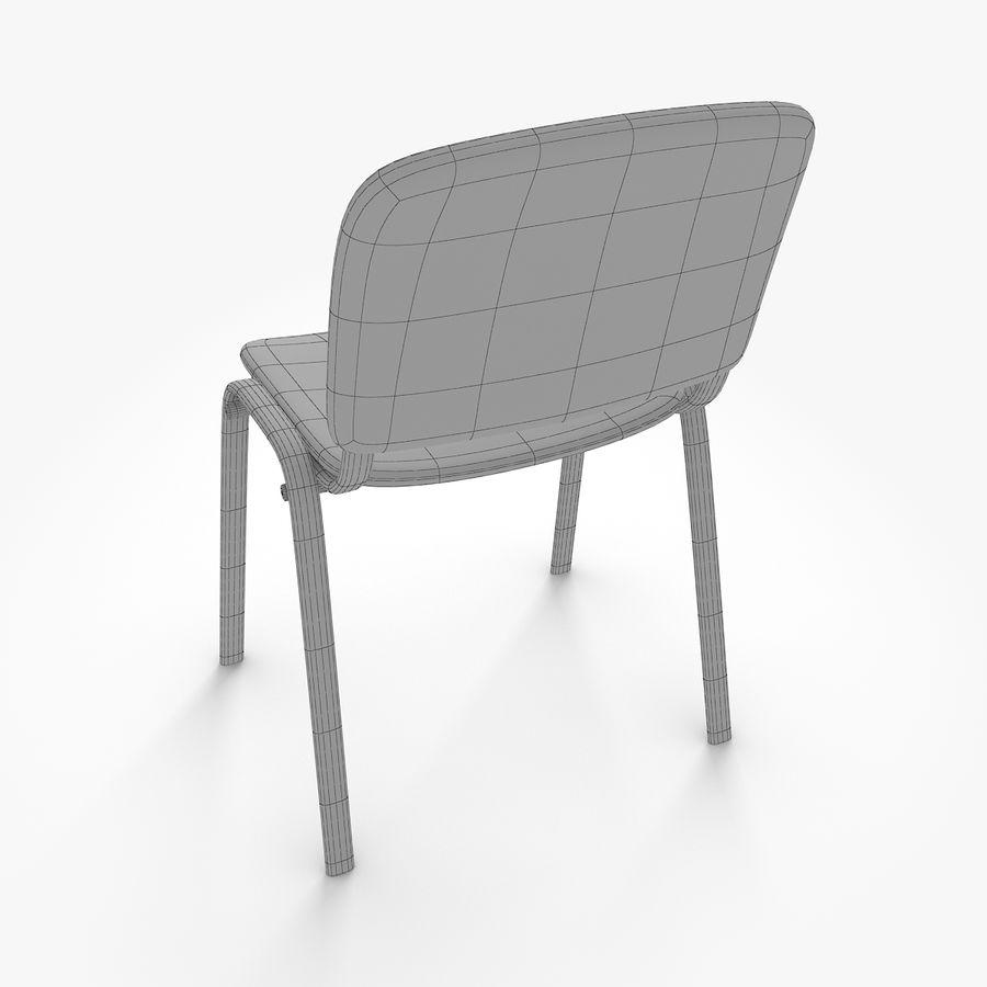 办公椅ISO royalty-free 3d model - Preview no. 9
