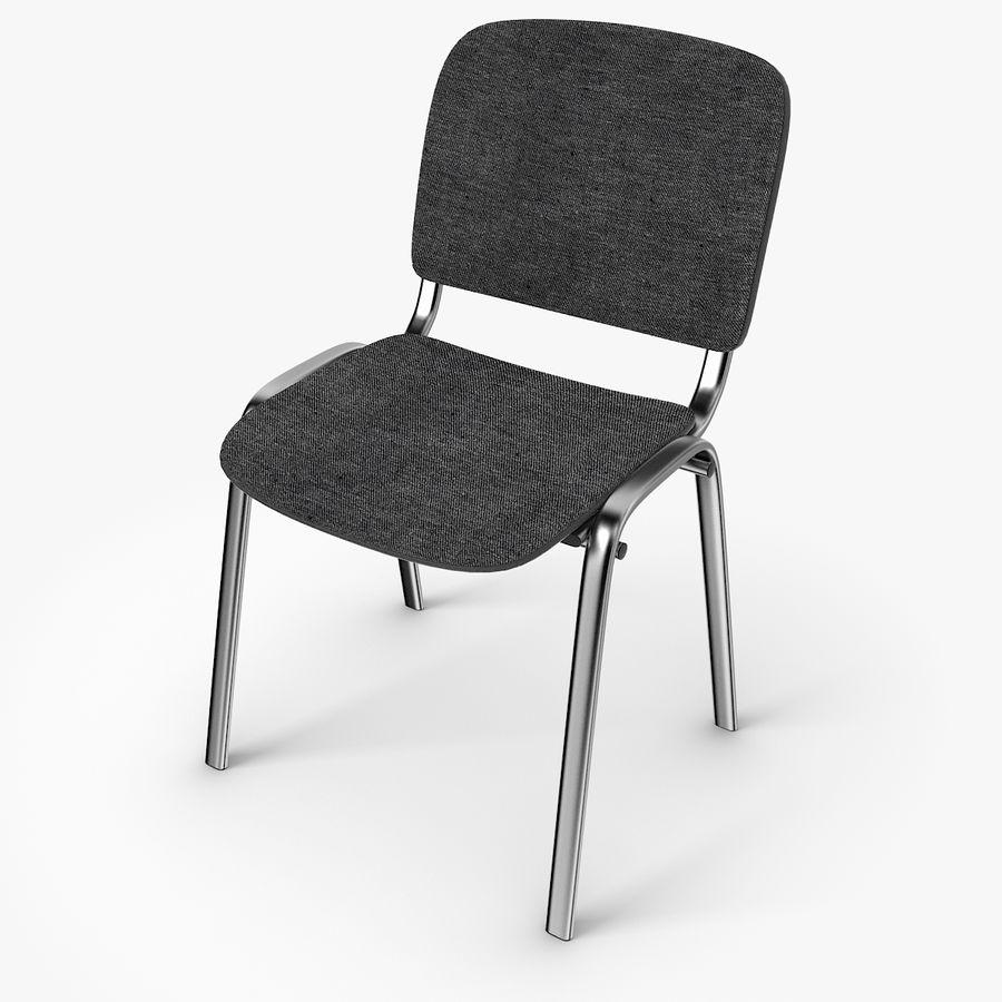 办公椅ISO royalty-free 3d model - Preview no. 1