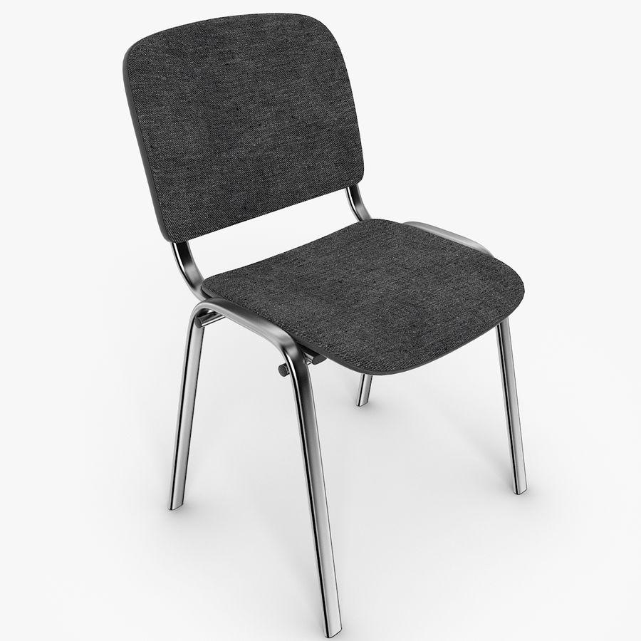 办公椅ISO royalty-free 3d model - Preview no. 6