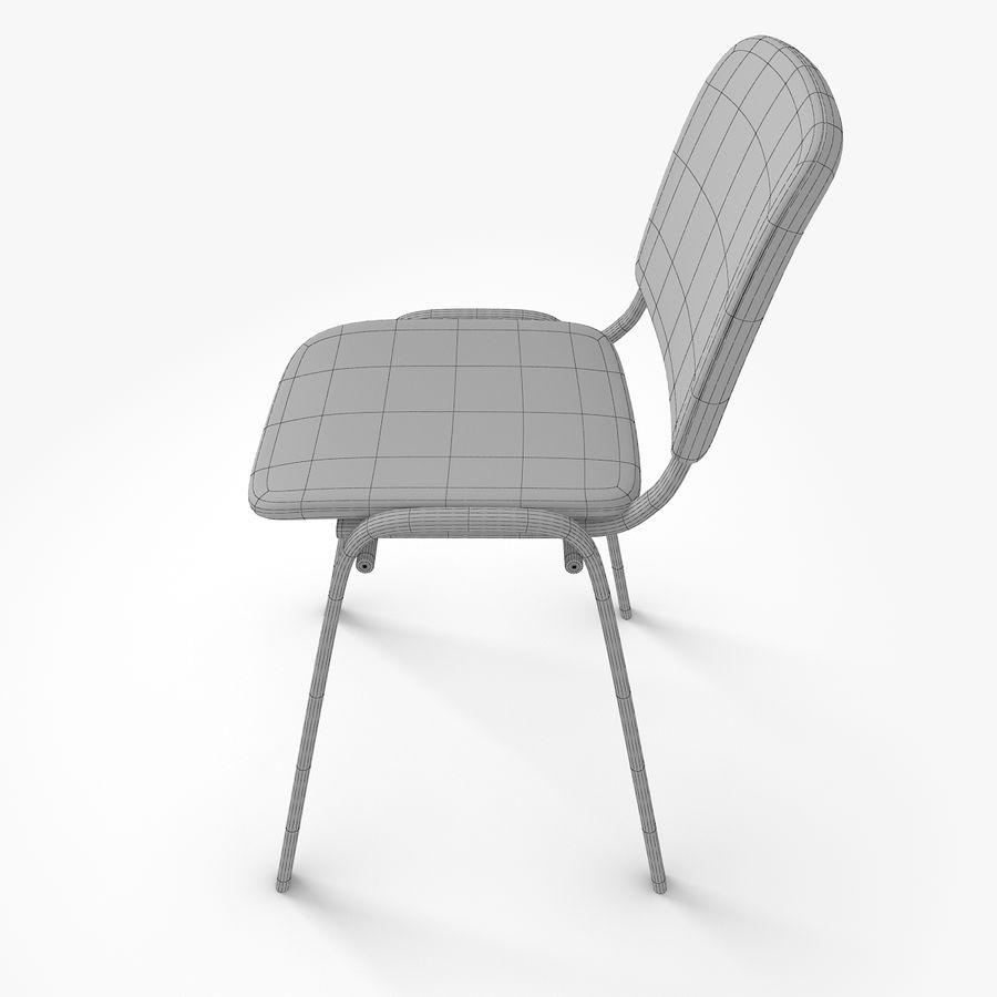 办公椅ISO royalty-free 3d model - Preview no. 8