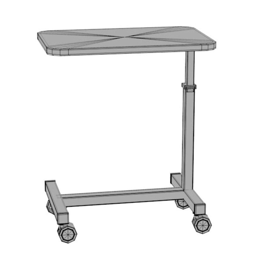 medical table13 royalty-free 3d model - Preview no. 2