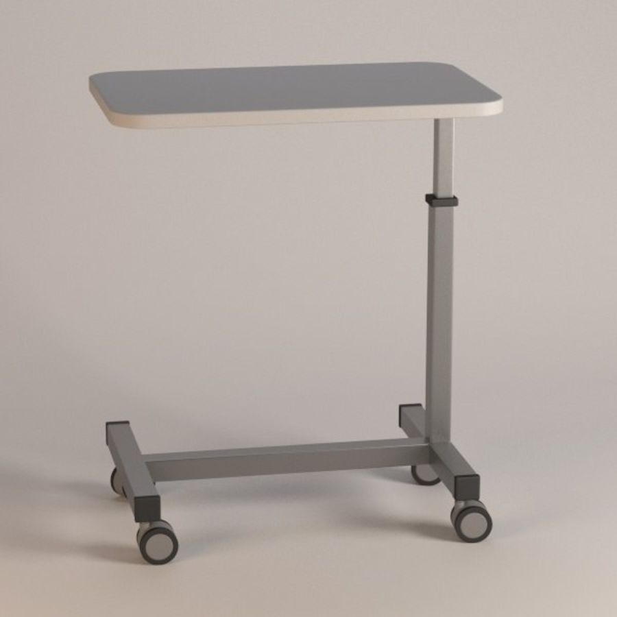 medical table13 royalty-free 3d model - Preview no. 1