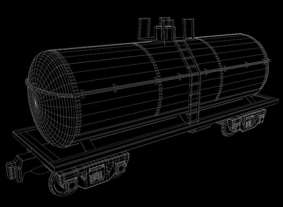Tren de carga royalty-free modelo 3d - Preview no. 29