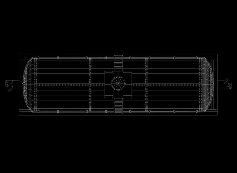 Tren de carga royalty-free modelo 3d - Preview no. 23