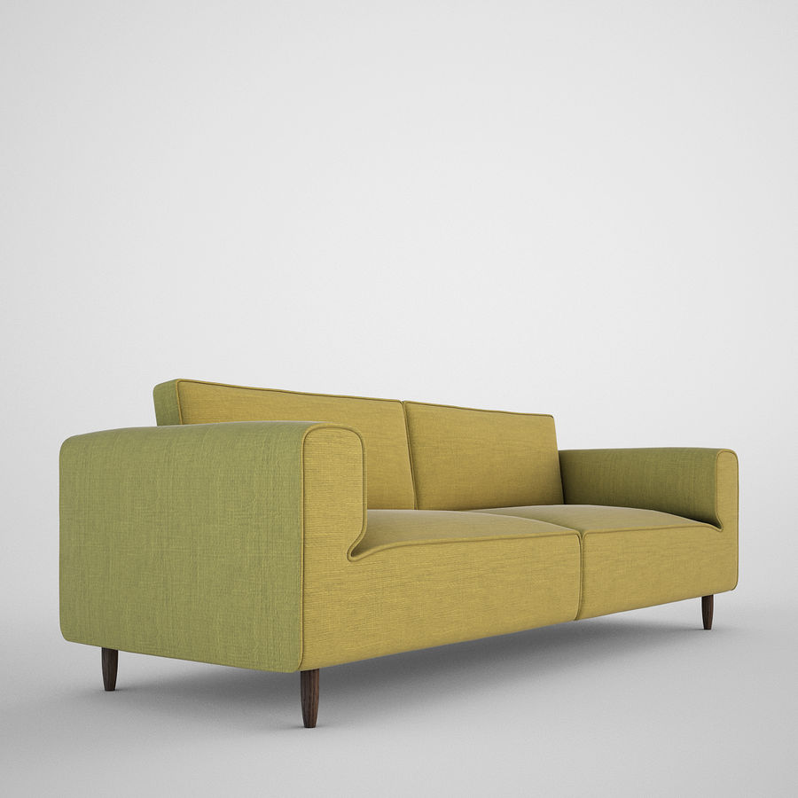 Sofá Arco BoConcept royalty-free 3d model - Preview no. 2