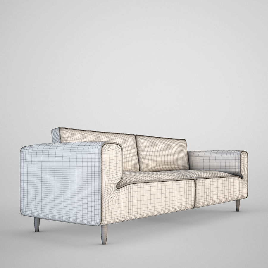 Sofá Arco BoConcept royalty-free 3d model - Preview no. 5