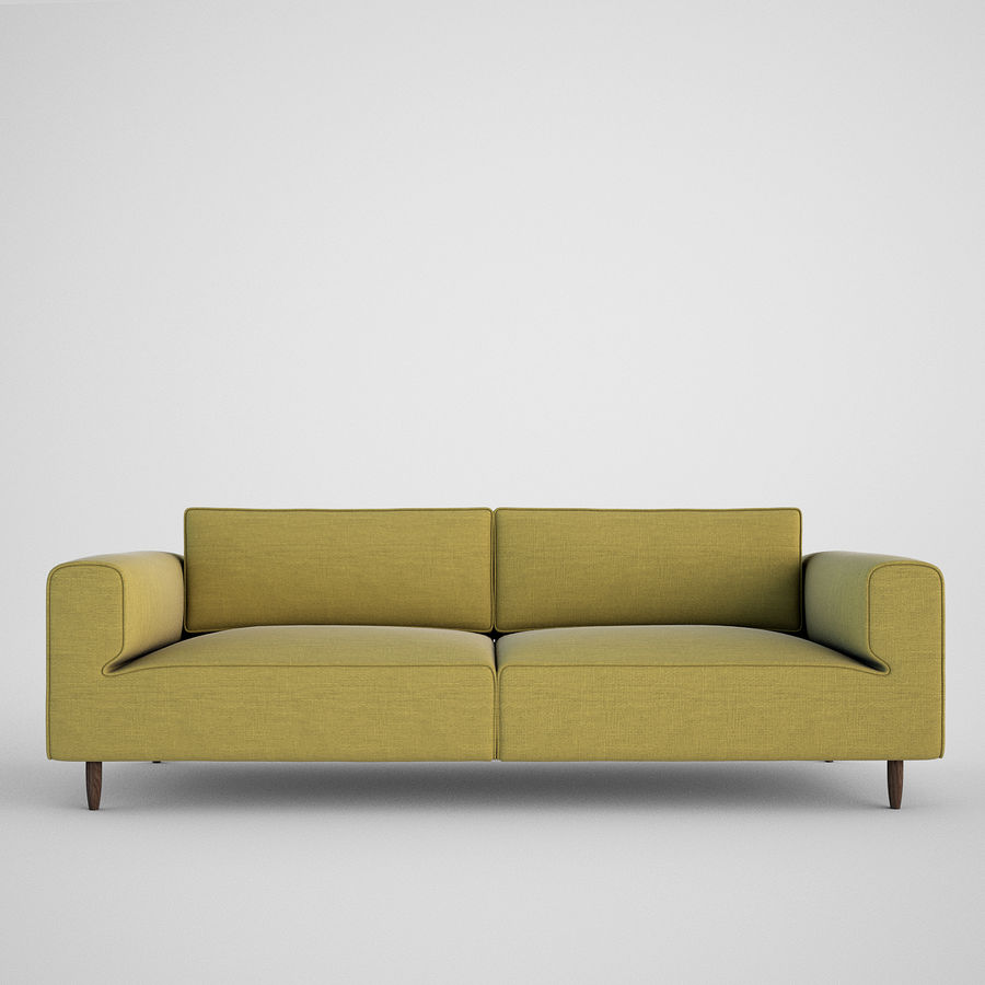 Sofá Arco BoConcept royalty-free 3d model - Preview no. 1