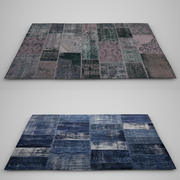 Patchwork carpet 3d model