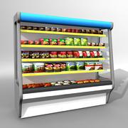 显示冰柜 3d model
