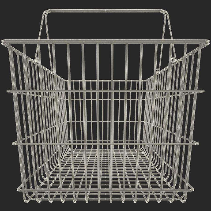 Koszyk supermarketów royalty-free 3d model - Preview no. 12