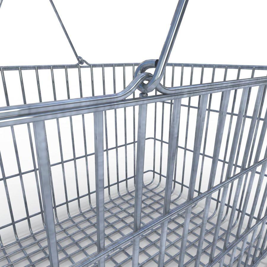 Koszyk supermarketów royalty-free 3d model - Preview no. 8
