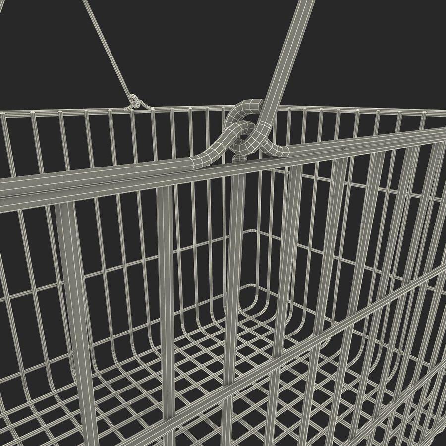 Koszyk supermarketów royalty-free 3d model - Preview no. 17