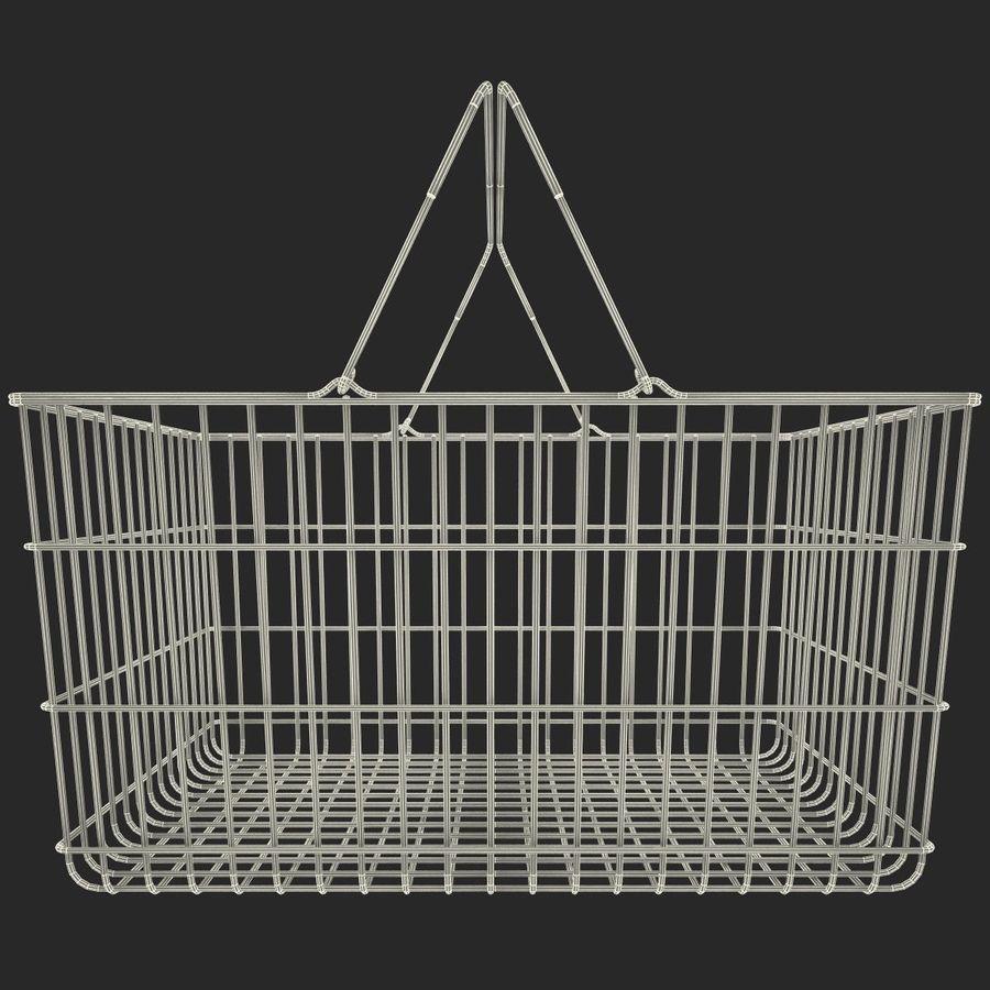 Koszyk supermarketów royalty-free 3d model - Preview no. 13