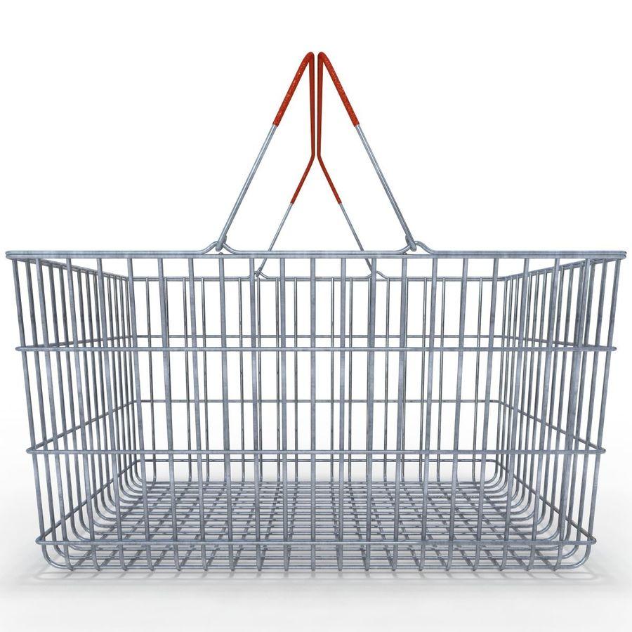 Koszyk supermarketów royalty-free 3d model - Preview no. 5