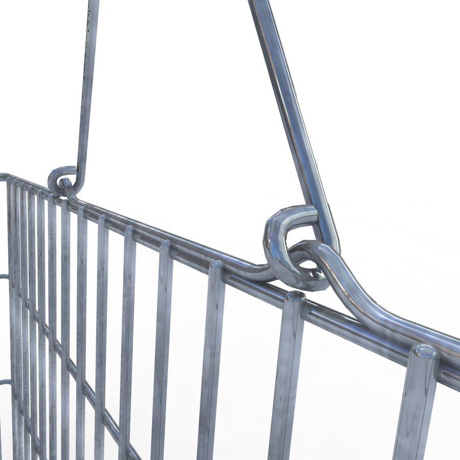Koszyk supermarketów royalty-free 3d model - Preview no. 9