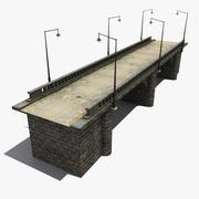 Stone Bridge 4 3d model