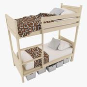 Bed For Children 3d model