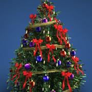 クリスマスツリー 3d model
