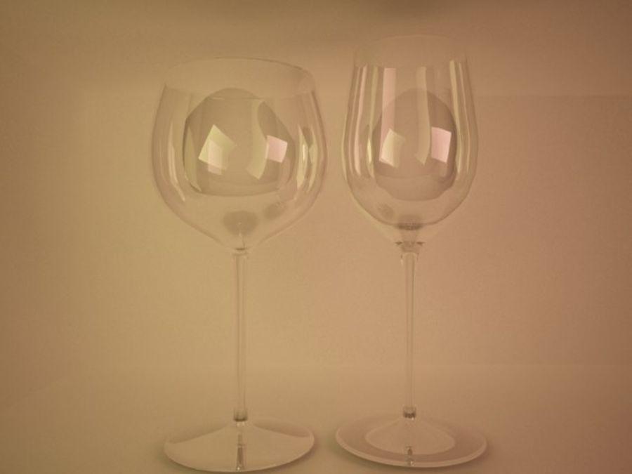 와인 잔 royalty-free 3d model - Preview no. 2
