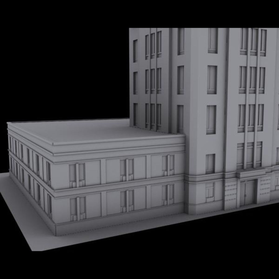 City royalty-free 3d model - Preview no. 6