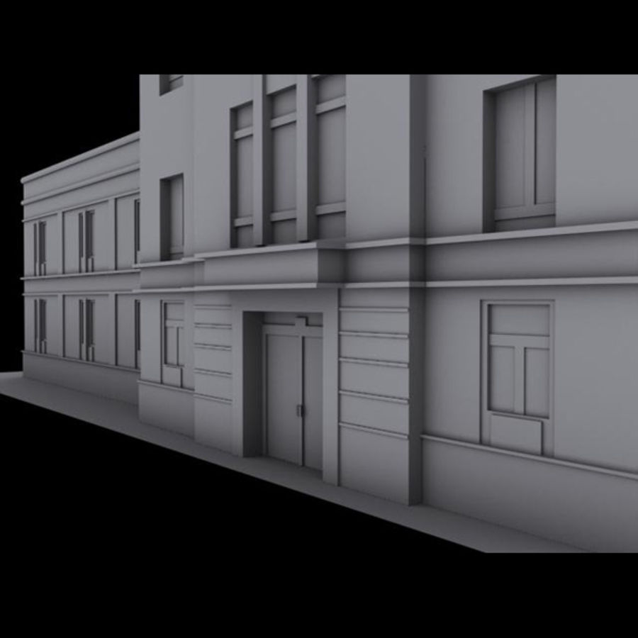 City royalty-free 3d model - Preview no. 5