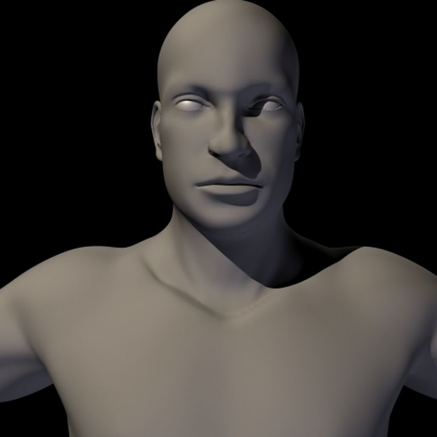 Male royalty-free 3d model - Preview no. 3