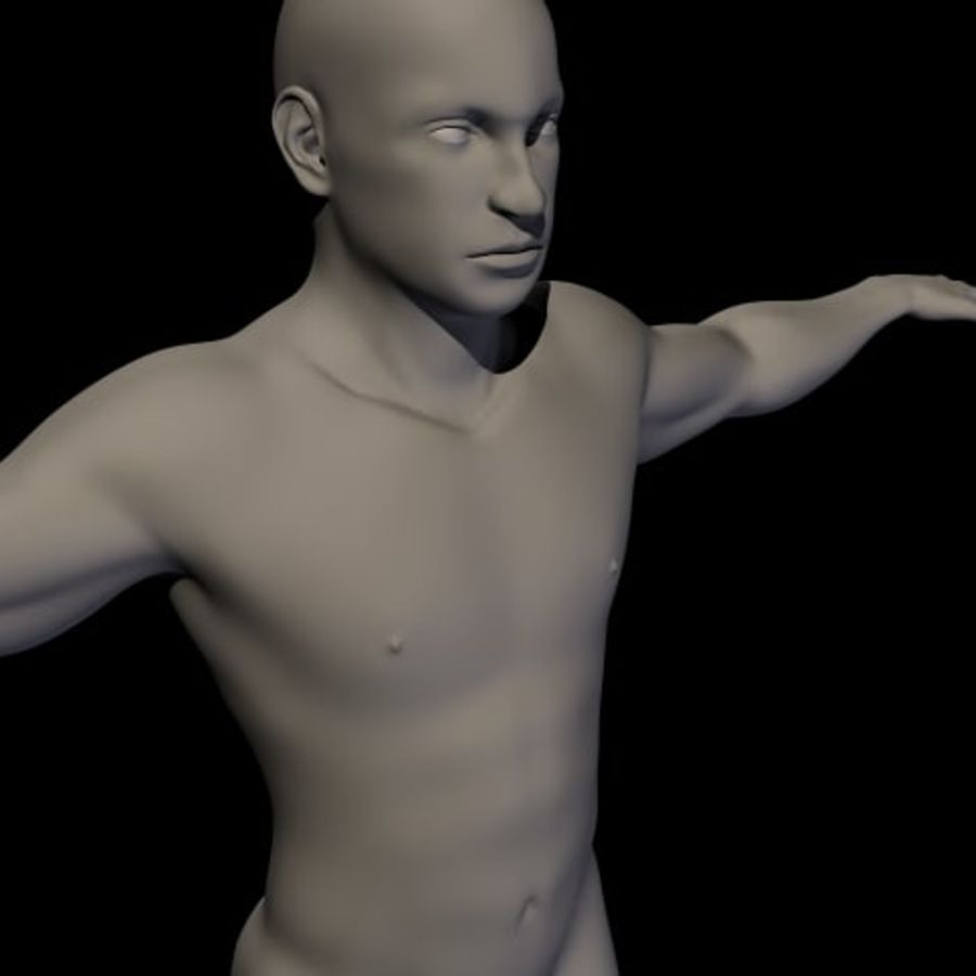 Male royalty-free 3d model - Preview no. 1