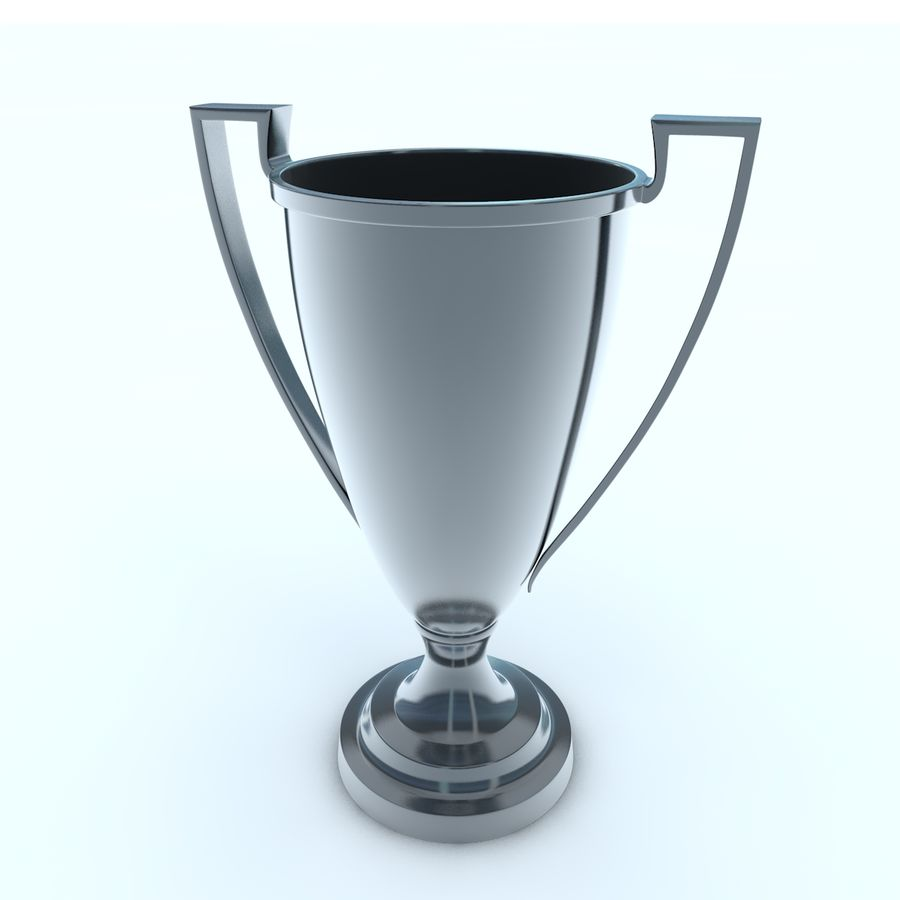 Trofee Cup royalty-free 3d model - Preview no. 2