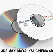 Płyta CD DVD 3d model