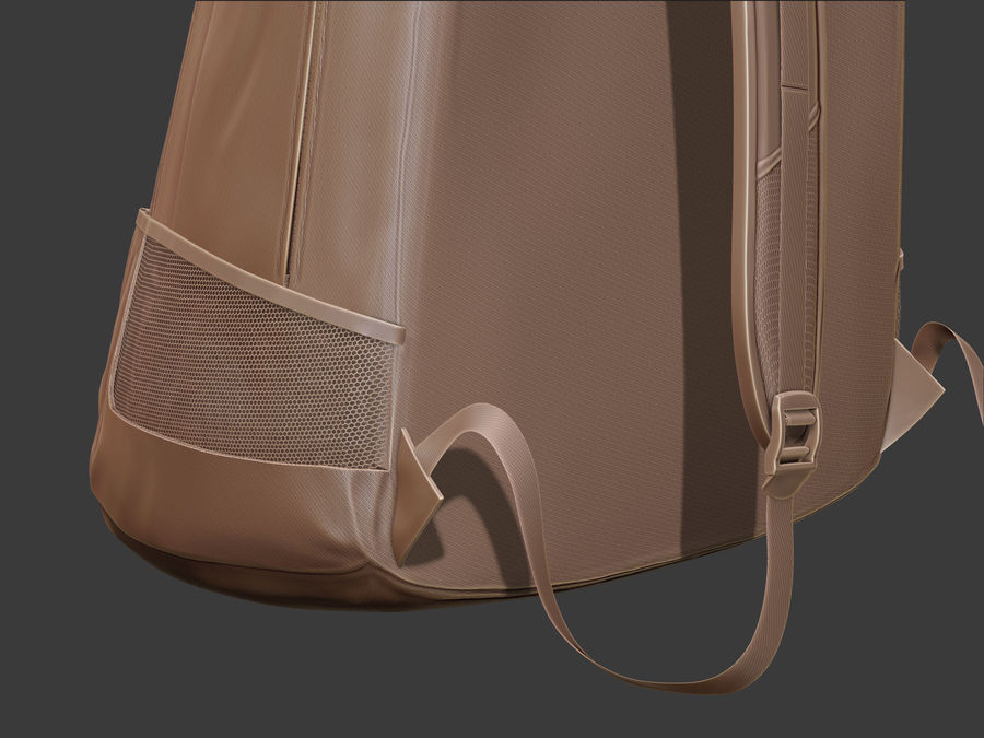 Backpack royalty-free 3d model - Preview no. 12