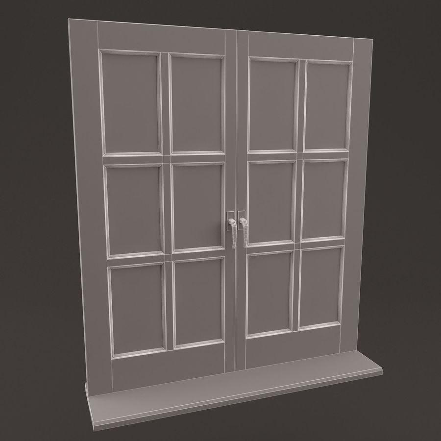 窗口 royalty-free 3d model - Preview no. 4