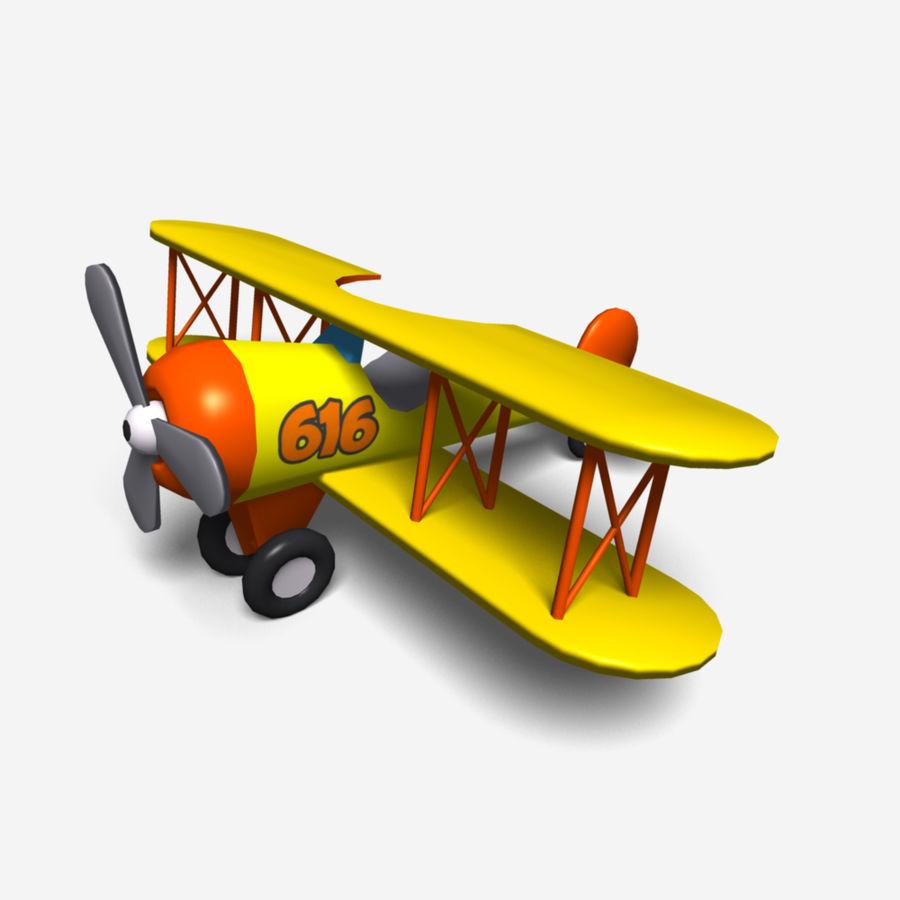 bi-plane royalty-free 3d model - Preview no. 1