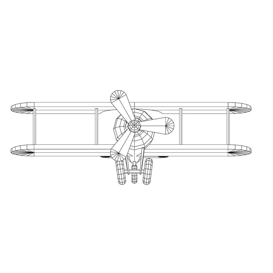 bi-plane royalty-free 3d model - Preview no. 5