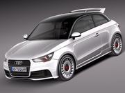 Audi A1 Quattro 2013 3d model